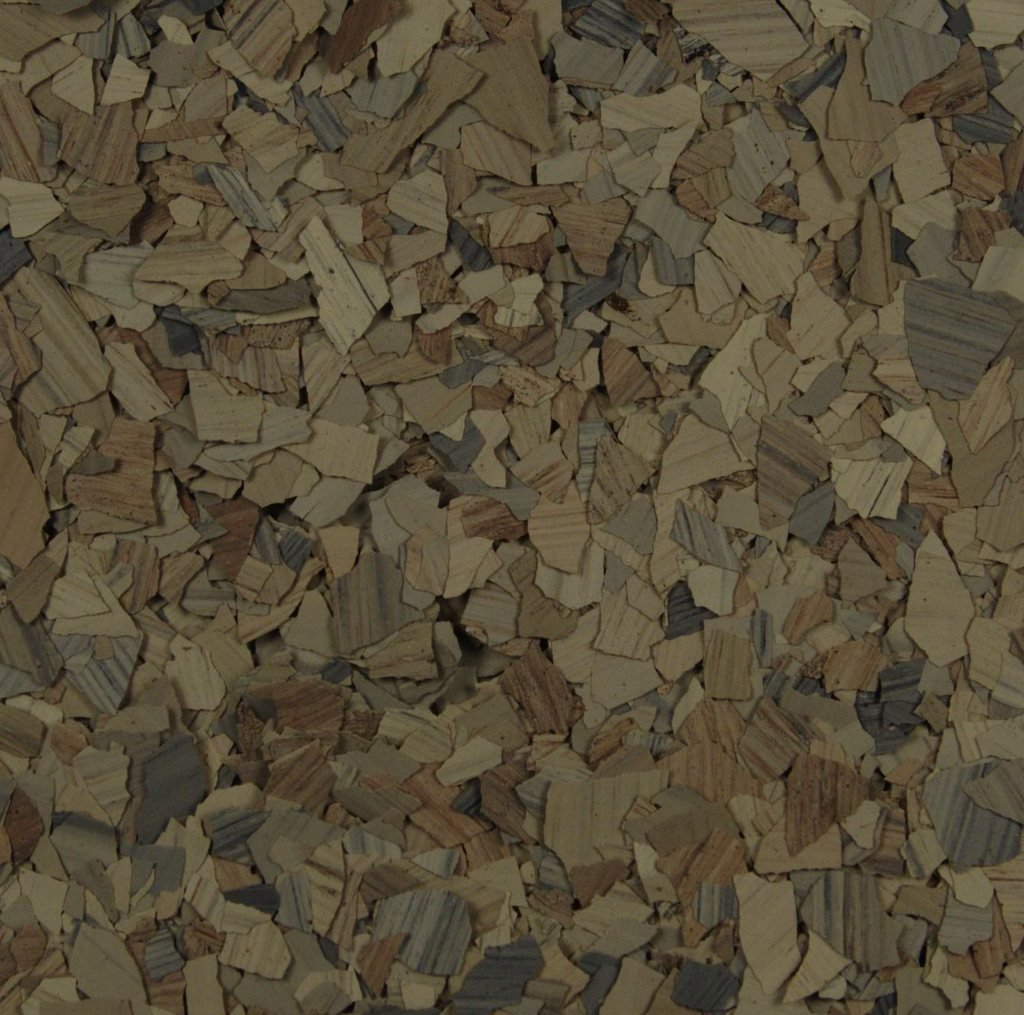 American Abrasive Supply, Vinyl Chip Blend Garnet (Stone) 1/4'' VCPGARNS15