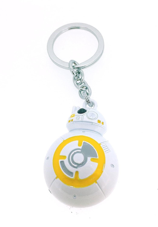 Gemelolandia Llavero Star Wars Androide BB8: Amazon.es: Joyería