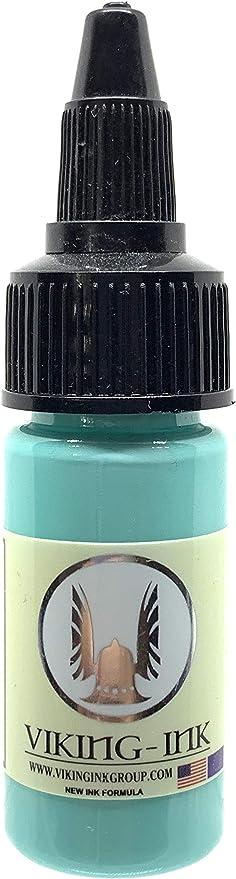 Tinta para tatuaje FRESH MINT 0.5oz (15ml) VIKING INK USA , Mejores tintas de colores y negros VEGAN: Amazon.com.mx: Salud y Cuidado Personal