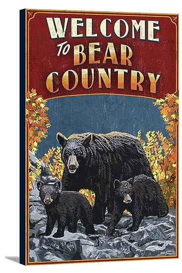 Amazon.com: Farol Press Welcome to Black Bear Country ...