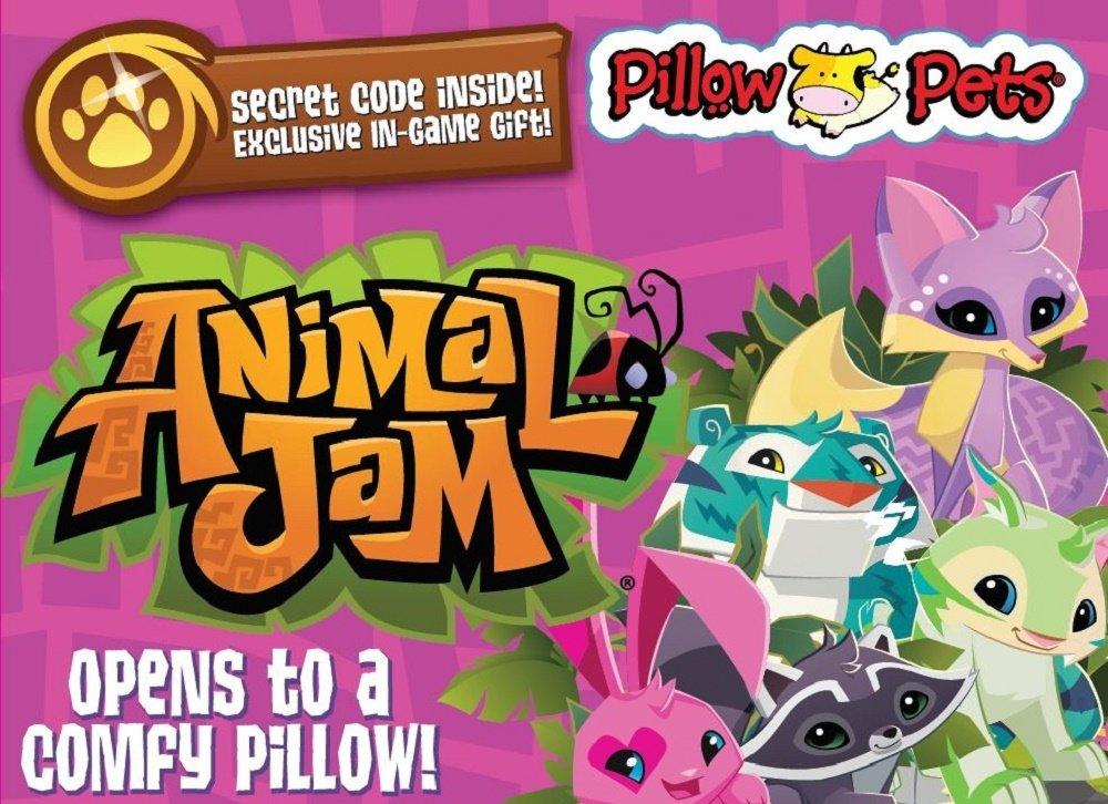 Amazon Pillow Pets Animal Jam Fox 16 Super Soft Stuffed Plush Toy Toys Games
