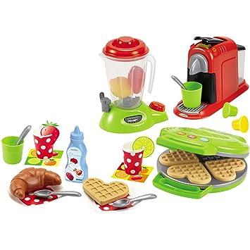 Küchengeräte Im Set, 3 Stück Mit Viel Zubehör, Für Kinder Ab 18 Monaten