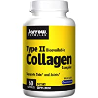 Jarrow Formulas Type 2 Collagen, Supports Skin and Joints, 500 mg, 60 Caps