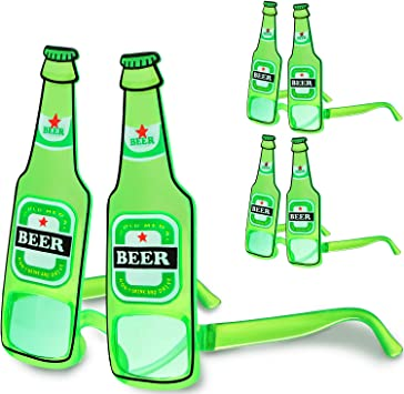 Patrick/'s Day Green Beer Mugs Eye Glasses Sunglasses Costume Accessory St