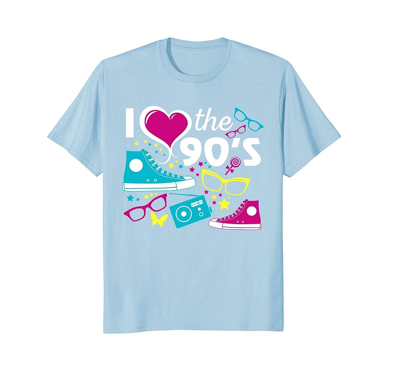 I Love The 90s Eighties T-shirt-alottee gift