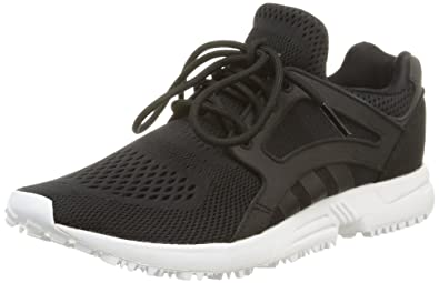 adidas Racer Lite EM, Sneakers basses femme, Noir (Core BlackCore Black