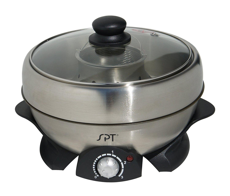 SPT SS-301 Multi-Cooker Shabu Shabu and Grill [並行輸入品]   B01IC172MM