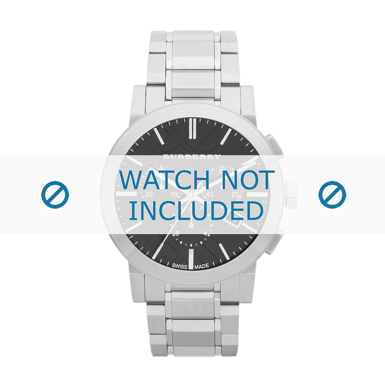 Burberry Uhrenarmband BU9351 Metall Silber (NUR UHRENARMBAND - UR NICHT INBEGRIFFEN!)