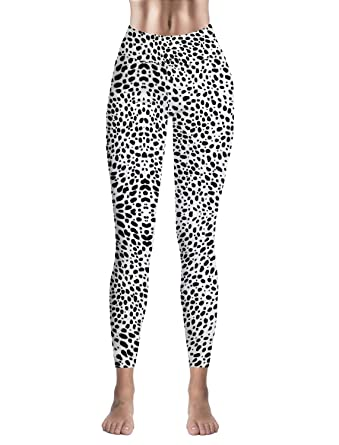 fa6a601d85023 Animal Leopard Print Printed Basic Leggings Yoga Workout Women Girls  Spandex High-Waist Stretch Pants at Amazon Women's Clothing store: