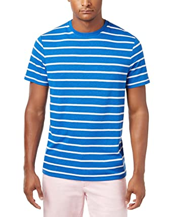Tommy Hilfiger Stripe Linen Blend T-Shirt Cheap Pay With Visa Discount Footlocker Finishline Cheapest 2018 Newest Discount Get To Buy PPlncIJQRk