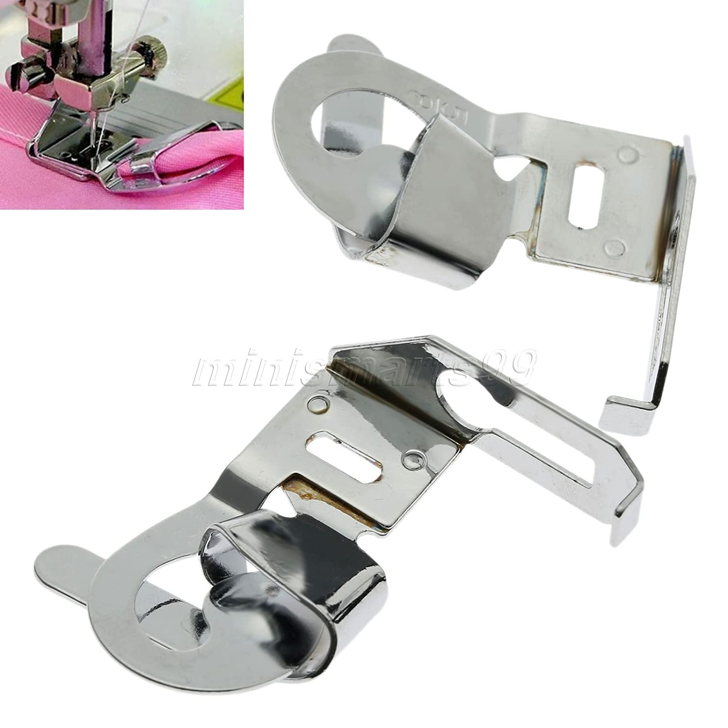 Cacys Store - 1PC Household Sewing Machine Parts Presser Foot Hemmer Foot(original Quality) Jeans Leg Curl 16mm 5/8