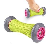 SANGKU Fussroller Massageroller Muskel Roller Stick, Hand und Fuß Massage Roller für Plantarfasziitis, Tool zur Erholung bei Muskelschmerzen und Schmerzlinderung für Hacken Fußgewölbe