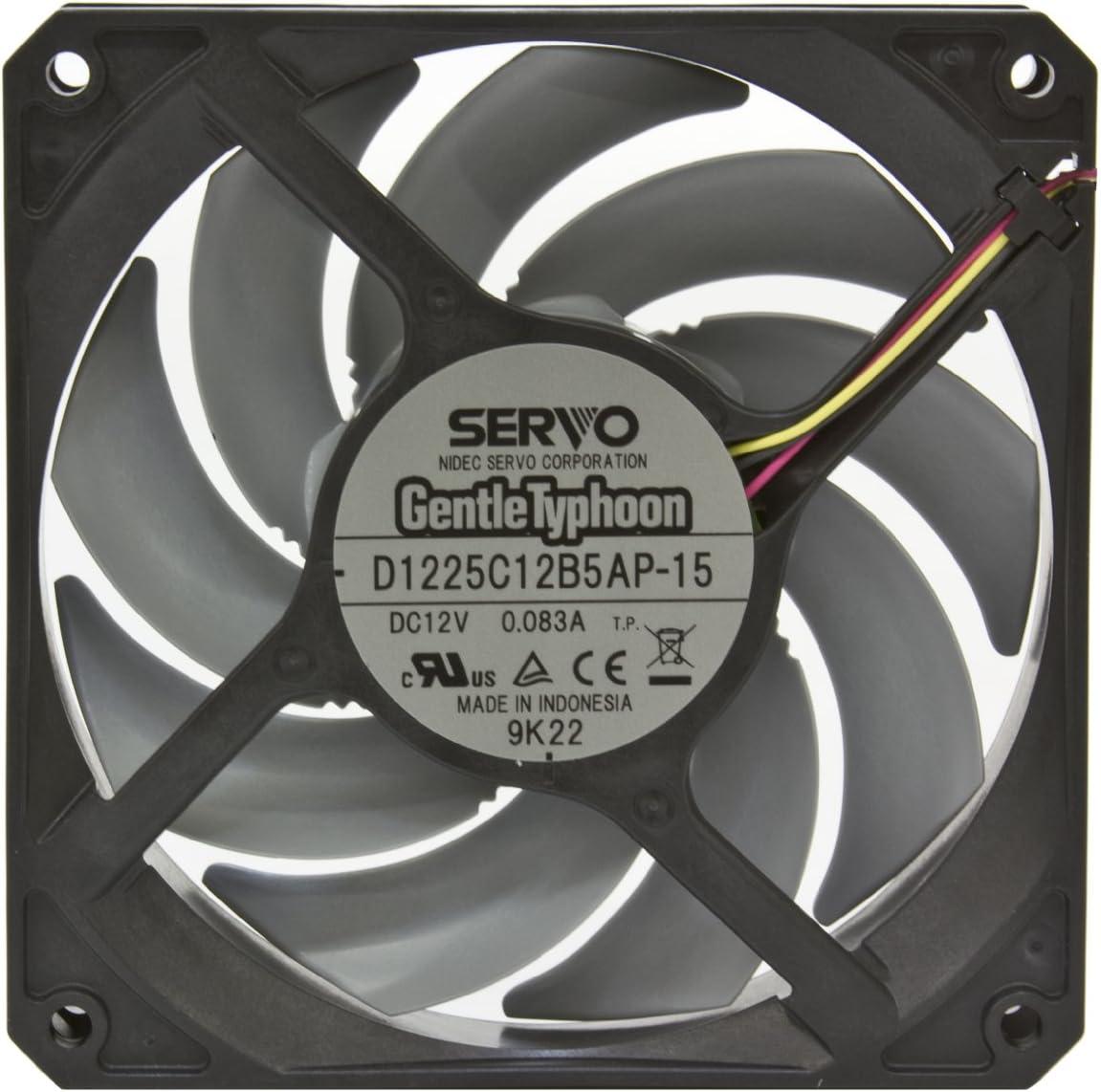 Nidec Servo Gentle Typhoon D1225C12B5AP 120mm 1850 rpm Silent Case Fan