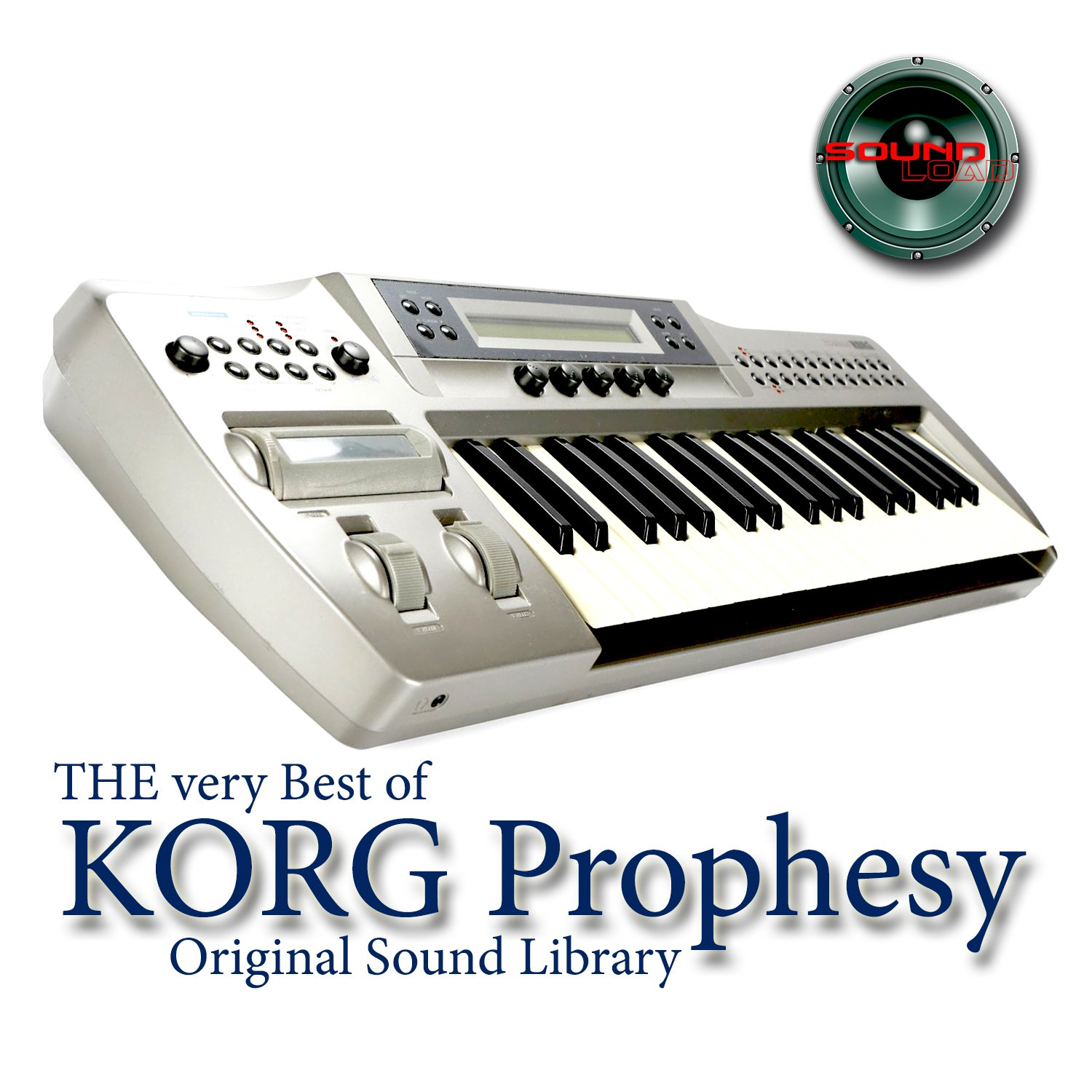 KORG PROPHESY - Large Sound Library - Original Samples in WAVEs format on DVD or for download by SoundLoad