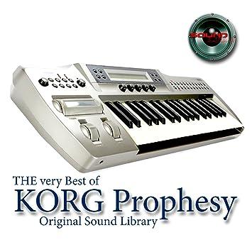 Korg PROPHESY - Large Sonido Library - Original muestras en formato de Waves on DVD or For Download: Amazon.es: Instrumentos musicales