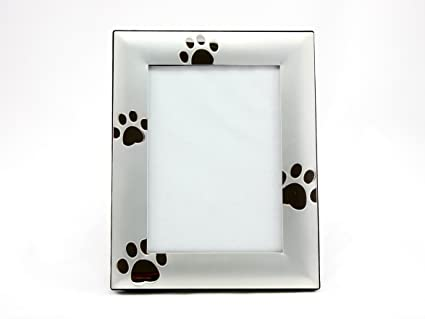 Amazon.com: Skyway Puppy Dog Paw Print Pet Photo Picture Frame ...