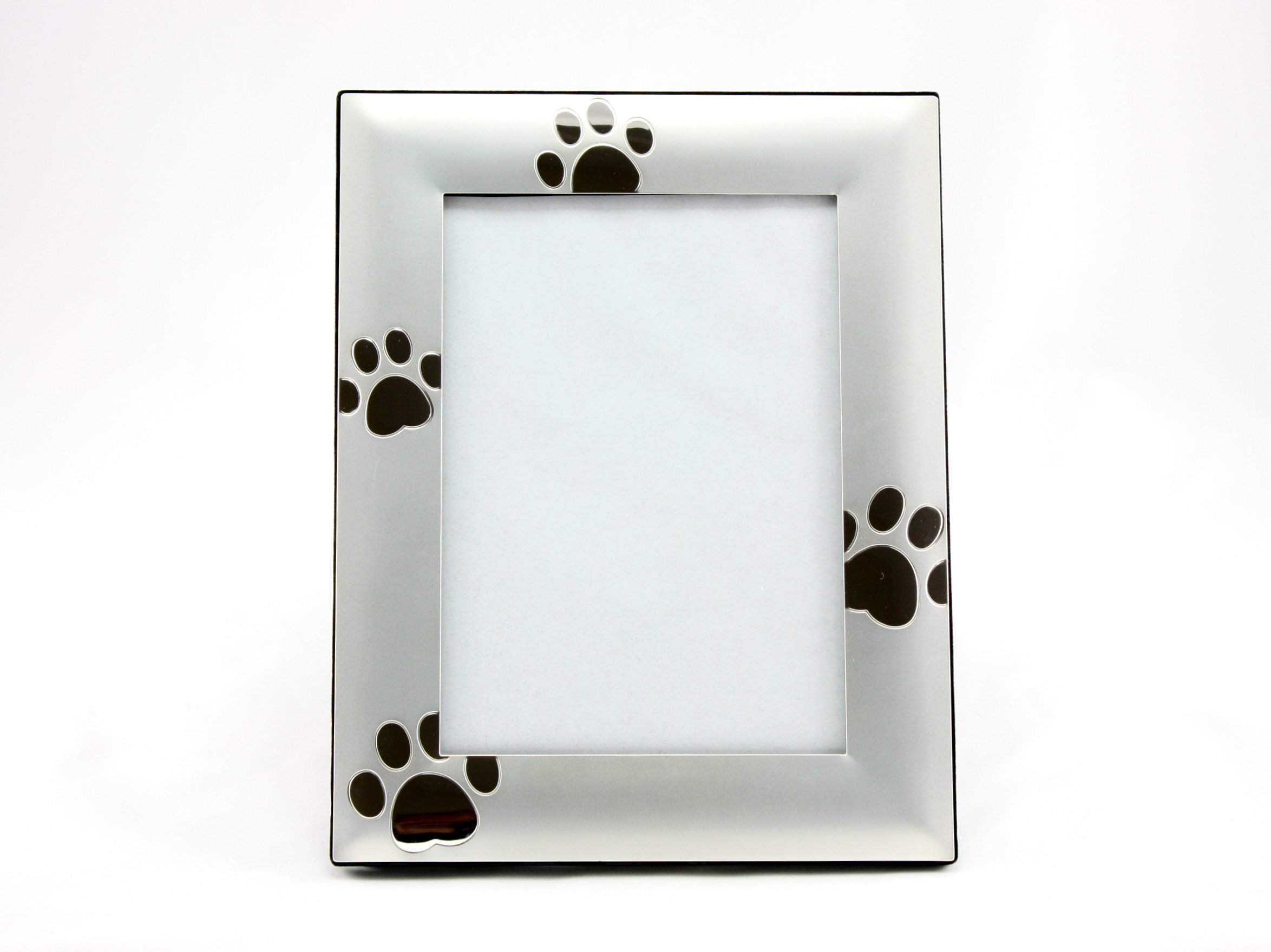 Skyway Puppy Dog Paw Print Pet Photo Picture Frame Silver - 4 x 6