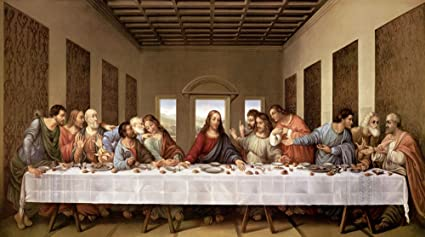 Image result for da vinci last supper