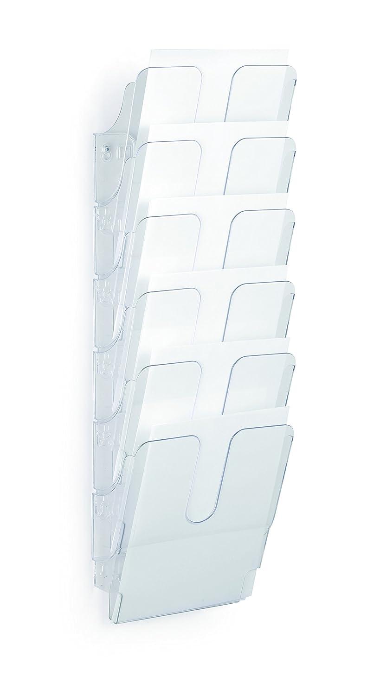 Durable FlexiPlus 2 1709008060 Literature Holder with 2 Compartments A4 Portrait Black