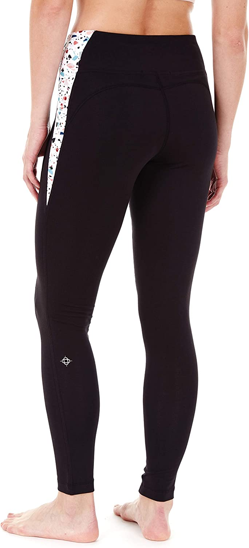 Satva Womens Super Soft Organic Cotton Comfortable Active Wear Yoga Workout Gym Loungewear Highwaisted Pyrite Legging
