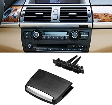 Amazon Com Jaronx For Bmw X5 X6 Air Vent Tab Upgraded Front Row Fresh Air Grille Clips Air Conditioning Vent Outlet Tab Clip For Bmw X5 E70 2006 2012 X6 E71 2008 2013 Front Row Automotive