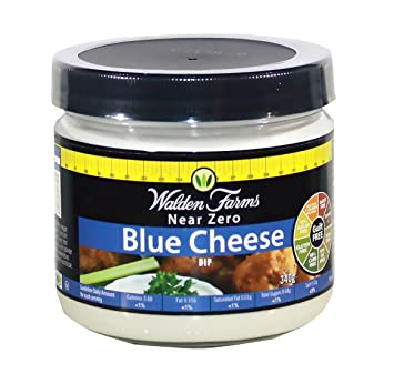 Walden Farms Bleu Cheese Dip, Sugar Free, Calorie Free, Carb Free, Fat
