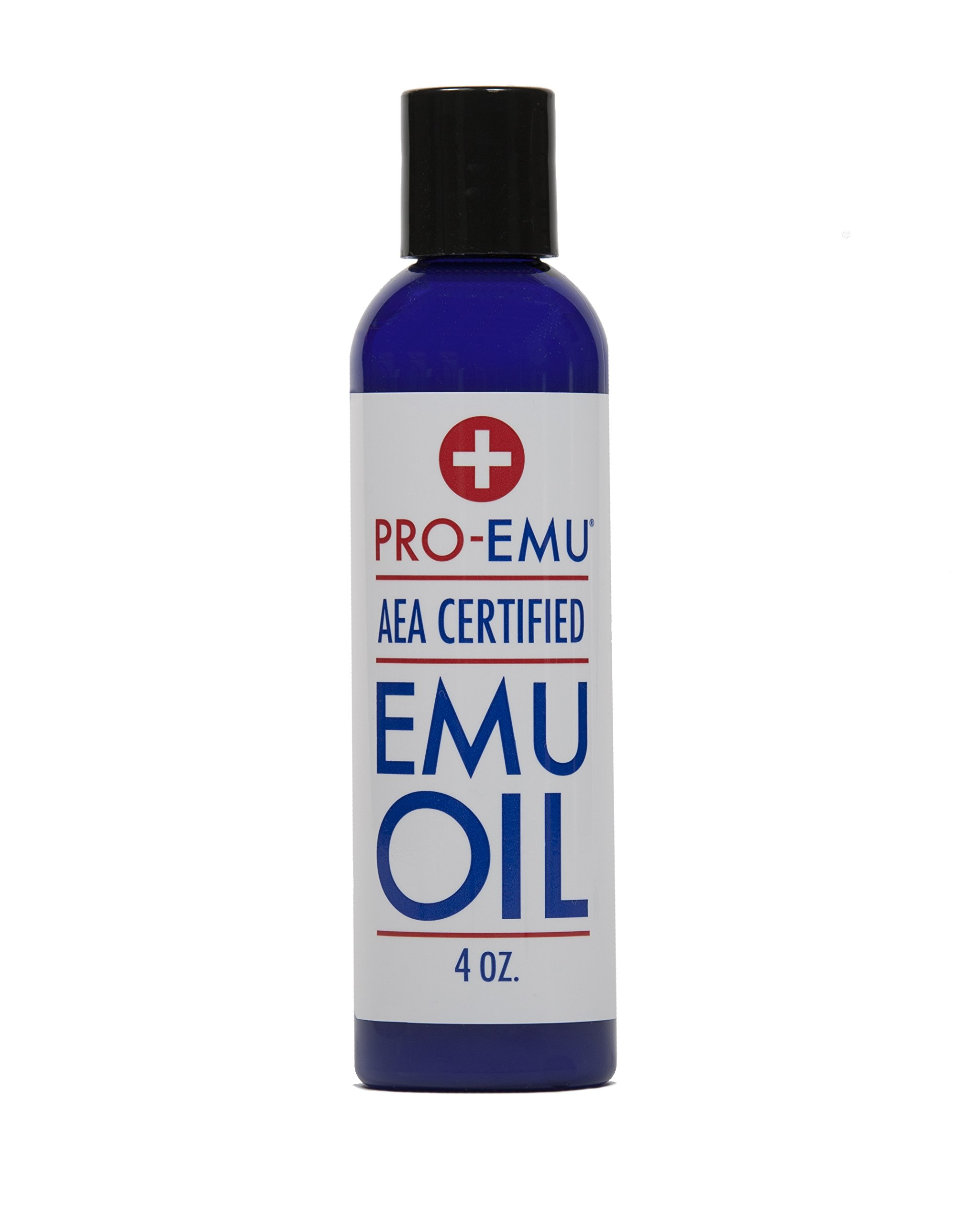 PRO EMU OIL (4 oz) All Natural Emu Oil - AEA Certified - Made In USA - Best All Natural Oil for Face, Skin, Hair and Nails.