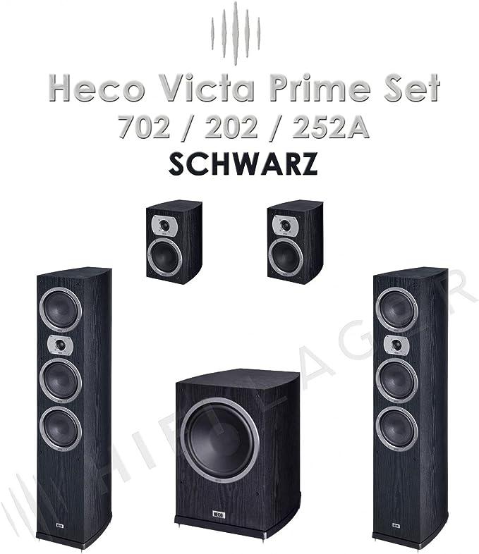 Heco Victa Prime 702 202 252a Set Farbe Schwarz Serie Ii Neu Ware Audio Hifi