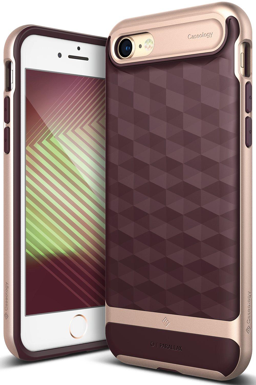 burgandy iphone 7 case