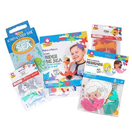 Creative Hands Arts And Crafts For Kids Craft Bundle Gift Sets Ocean