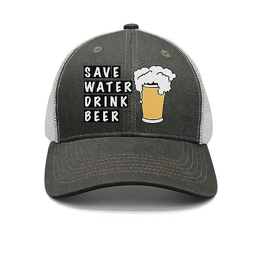8a3bafae065 Amazon.com: ONEYUAN Unisex Casual Mesh Baseball Cap-Save Water Drink ...