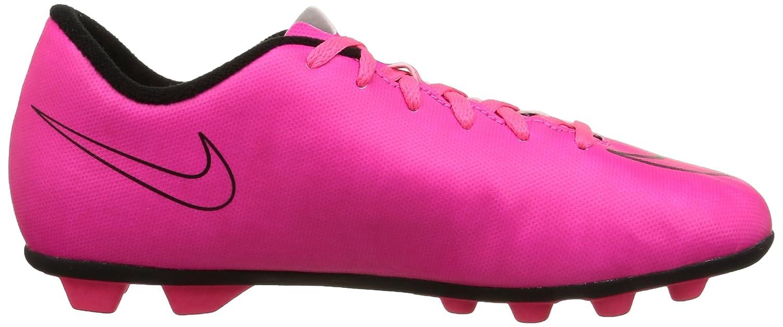 Wolf GreyHyper Pink black blk Nike Jr Mercurial Vortex II