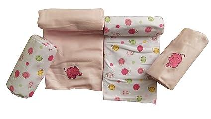 Pack de 4 toallas de franela pañales pañales para Vómitos pañales pañales de tela paños niña