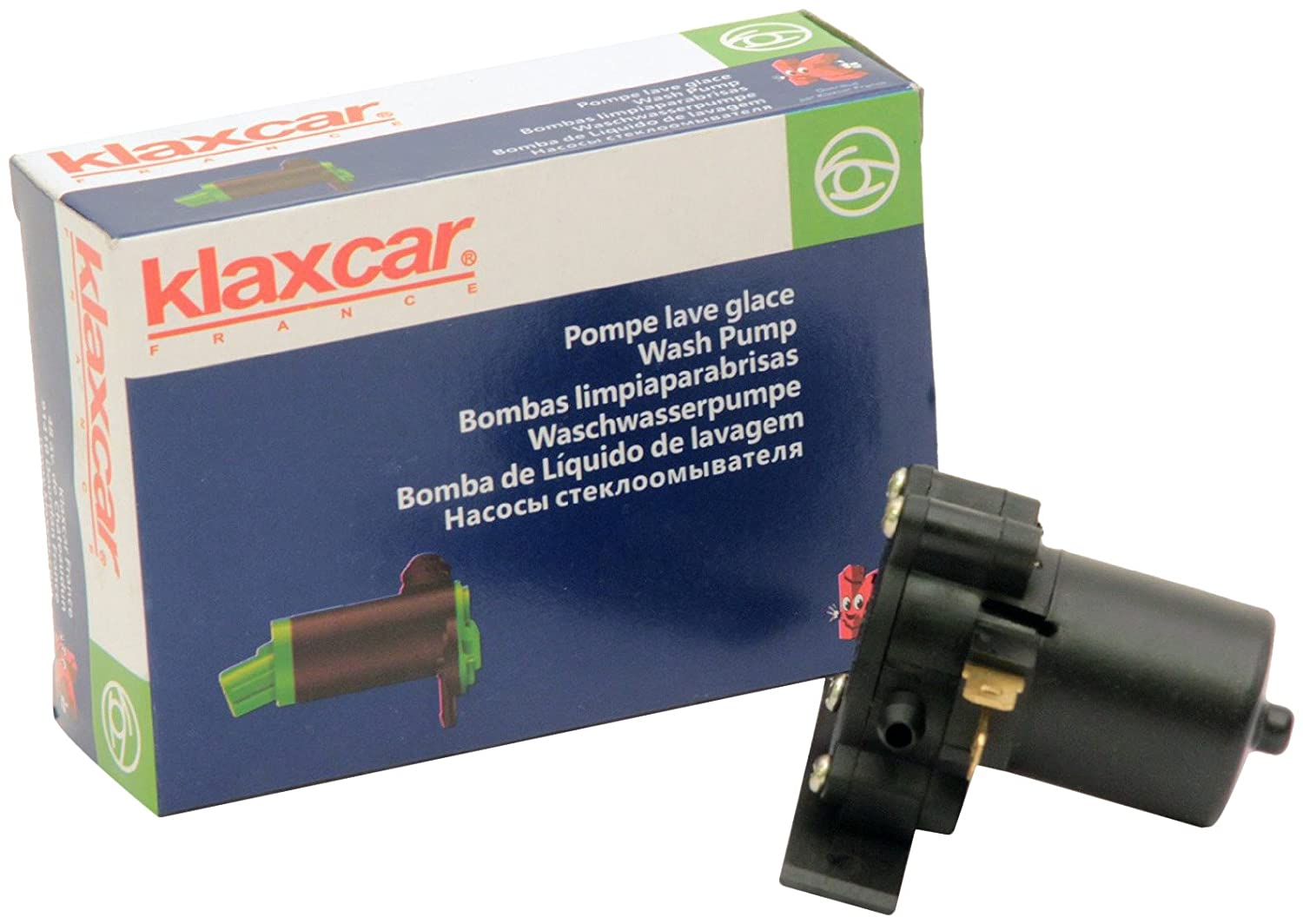Amazon.com: KLAXCAR 54501Z Universal Washer Pump 12/ 24V 1200ml/ min ...