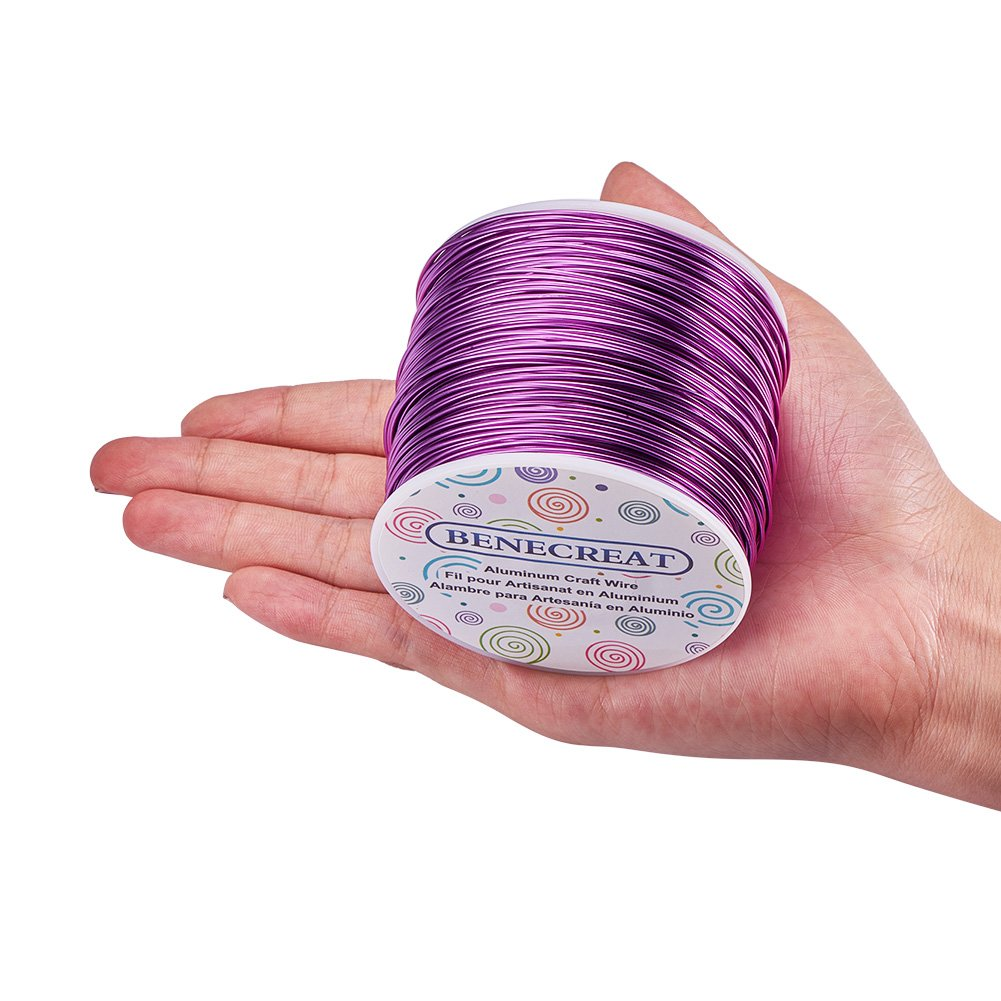 Benecreat 12 17 18 Guage Aluminum Wire Gauge100ft Anodized Copper To Wiring Jewelry Craft Making