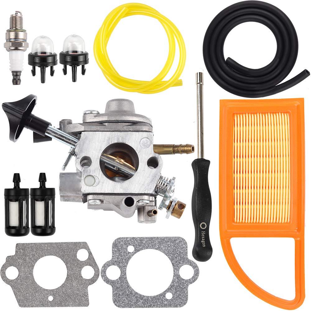 Dalom BR600 Carburetor w Carburetor Adjustment Tool Fit Stihl Stihl BR550 BR500 Backpack Blower C1Q-S183 Carb 4282-120-0606 4282-120-0607 4282-120-0608 by Dalom