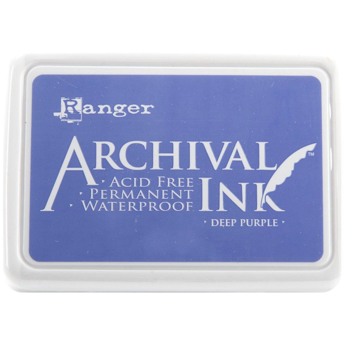 Ranger Archival Ink Pad #0-Deep, Purple AIP-30430