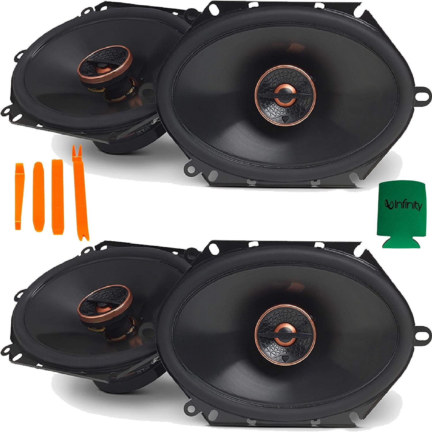 Infinity Reference for Ford 97-14 F-150 Bundle 2-Pairs REF-8632CF 6x8
