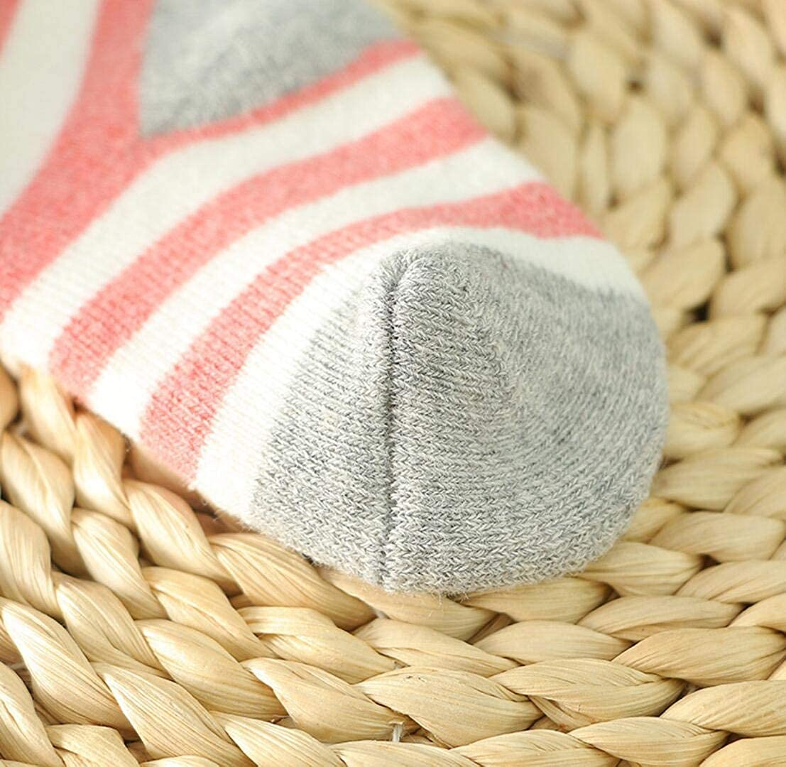 5er Pack Baby Cotton Socks set Infants Toddler Kids Breathable Lovely 0-10 Years
