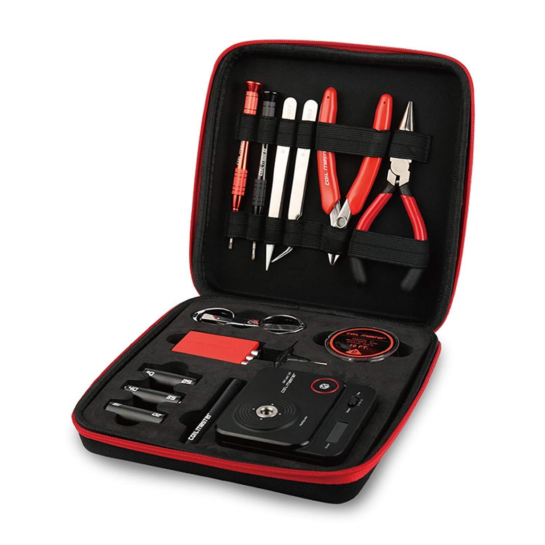 Coil Master 100% Auténtico Kit de Bricolaje V3 Conjunto de Herramientas con la última Bobina Jig (V4) / 521 Tab Mini V2 /Pinzas / Cable Resistente al Calor ...