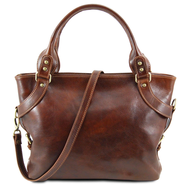 Tuscany Leather Ilenia Borsa a spalla Marrone