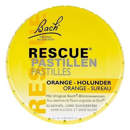 Fleur De Bach Original Rescue Pastilles 50 G Amazon Fr Hygiene