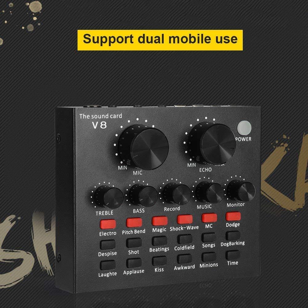Tarjeta de sonido Ps4, Femate tarjeta de sonido V8 Live con ...