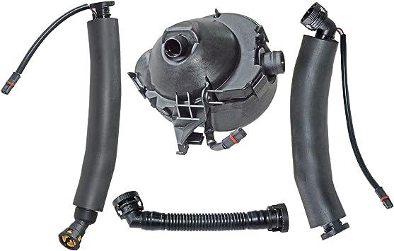 Crankcase Breather Hoses Oil Separator Kit para BMW 5 Touring E61 2004