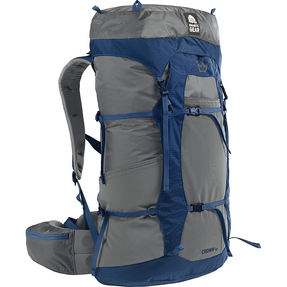 Granite Gear Crown 2 60 Backpack - Women's Flint/Midnight Blue Regular