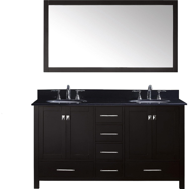50%OFF Virtu GD BGRO ES 002 Caroline Avenue Double Bathroom Vanity Cabi