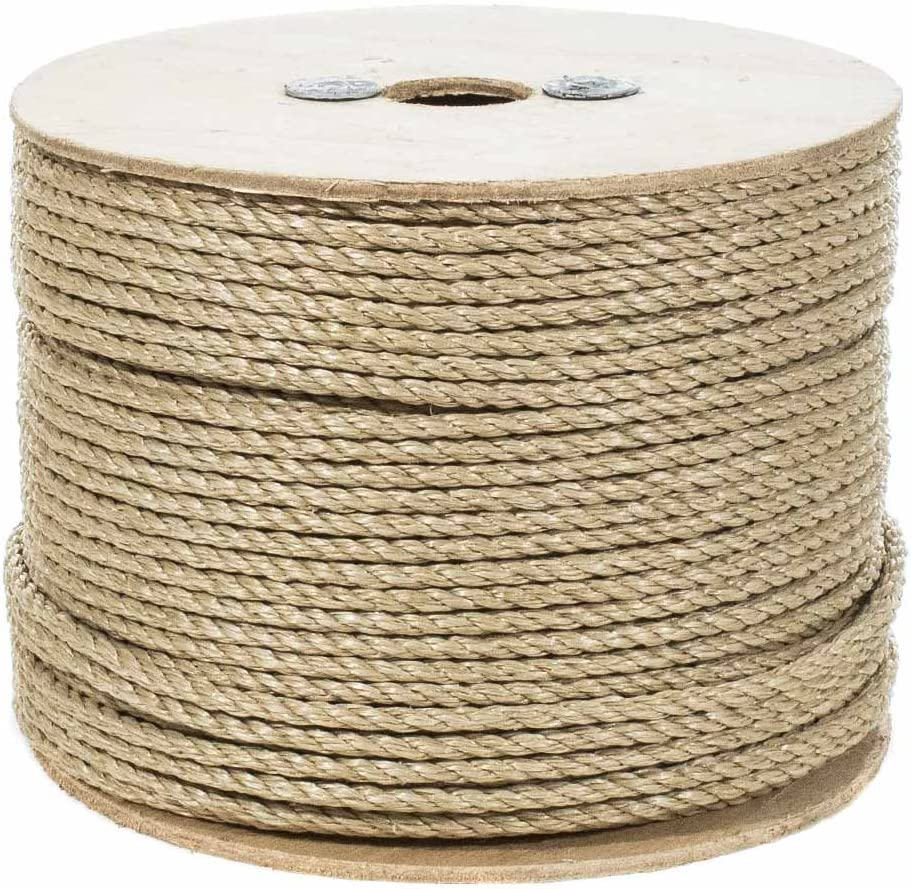 All Purpose ProManila Cord for Decor and Landscaping UnManila Polypropylene Rope Cordage 5//8 Inch x 100 Feet Sporting Tug of War Rope Crafts