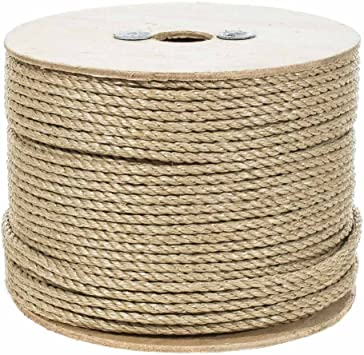 1//2 inch 3 Strand Twisted ProManila Polypro Rope 3//8 inch Several Lengths PARACORD PLANET 3//4 inch 1//4 inch 2 inch Sizes 5//8 inch 5//16 inch 1-1//4 inch 1-1//2 inch