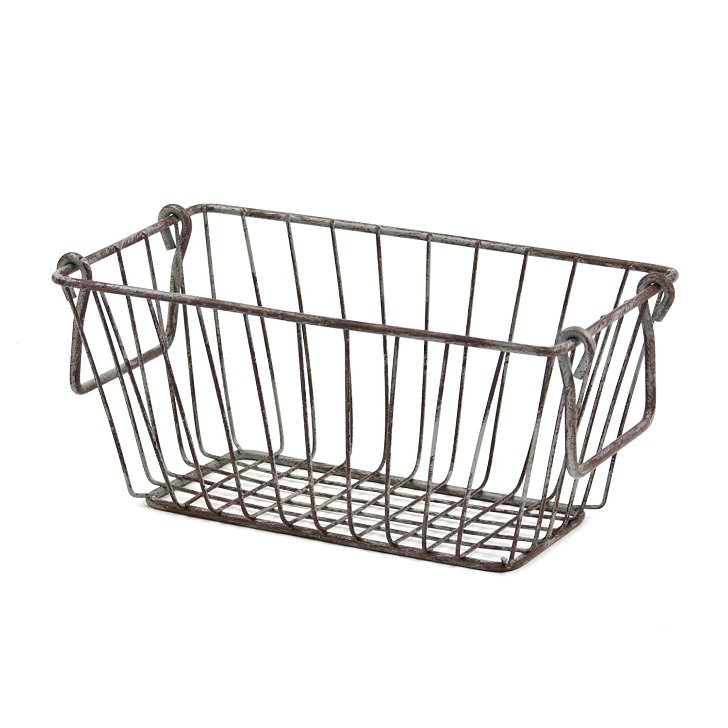 Amazon.com: Skalny Rectangle Wire Storage Container, 11.5 x 8.5 x ...