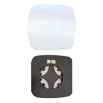 Retrovisor derecho asphärish Espejo de cristal con placa y calefacción # rtko09 AM rwah: Amazon.es: Coche y moto
